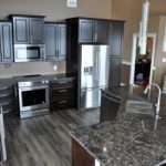 E & L Building Contractors kitchen completed
