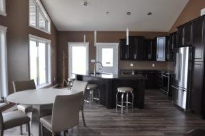 E & L Building Contractors open floor plan